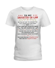 TO MY DAUGHTER-IN-LAW Ladies T-Shirt thumbnail