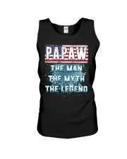 Papaw Legend Fathers Day Independence Day Unisex Tank thumbnail