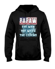 Papaw Legend Fathers Day Independence Day Hooded Sweatshirt thumbnail
