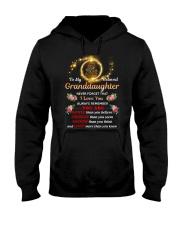 To My Beloved Granddaughter Hooded Sweatshirt tile