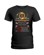 To My Beloved Granddaughter Ladies T-Shirt tile