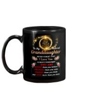 To My Beloved Granddaughter Mug back