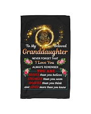 To My Beloved Granddaughter Hand Towel thumbnail