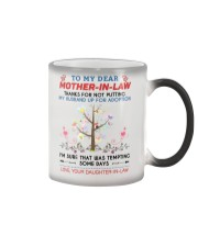 To My Dear Mother-In-Law Color Changing Mug thumbnail