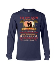 TO MY SON - MOM Long Sleeve Tee thumbnail