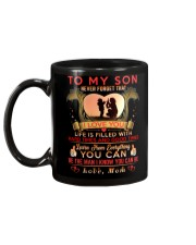 TO MY SON - MOM Mug back