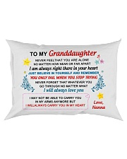 Nanna - To My Granddaughter Rectangular Pillowcase front