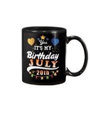 July 20th Birthday Gift T-Shirts Mug thumbnail