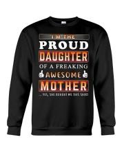 Proud Daughter - Mother Crewneck Sweatshirt thumbnail