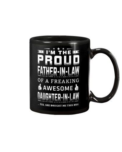 PROUD FATHER-IN-LAW Father's Day