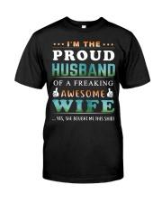Im The Proud Husband - Wife Classic T-Shirt thumbnail