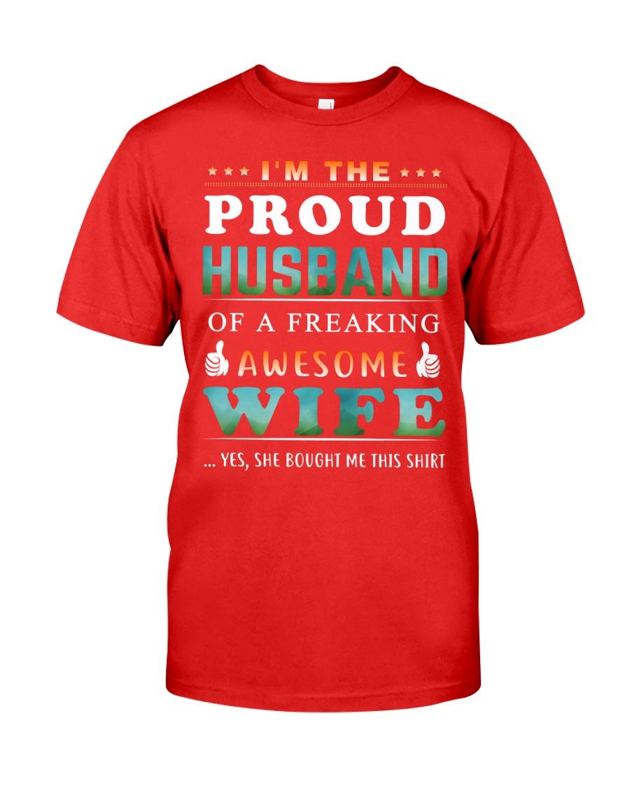 Im The Proud Husband - Wife Premium Fit Mens Tee