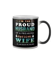 Im The Proud Husband - Wife Color Changing Mug thumbnail