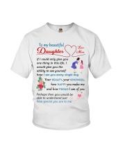 To My Beautiful Daughter Youth T-Shirt thumbnail