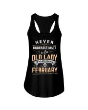 Old Lady February Ladies Flowy Tank thumbnail