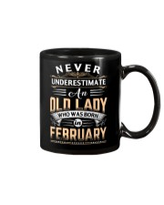 Old Lady February Mug front
