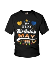 May 18th Birthday Gift T-Shirts Youth T-Shirt thumbnail