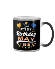 May 18th Birthday Gift T-Shirts Color Changing Mug thumbnail