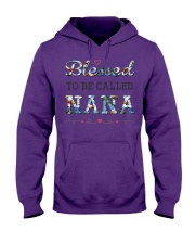 Blessed to be called Nana Hooded Sweatshirt thumbnail