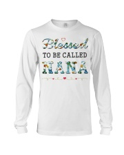Blessed to be called Nana Long Sleeve Tee thumbnail
