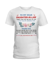 To My Dear Daughter-In-Law Ladies T-Shirt thumbnail