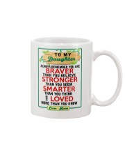 MOM - TO MY DAUGHTER Mug front