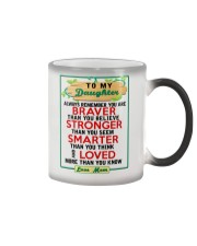 MOM - TO MY DAUGHTER Color Changing Mug thumbnail