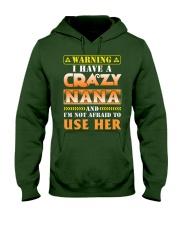 Warning Nana Hooded Sweatshirt thumbnail