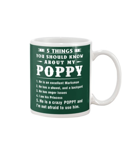 5 THINGS YOU SHOULD KNOW - POPPY