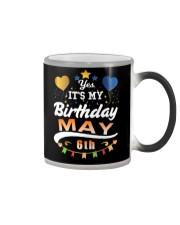 May 6th Birthday Gift T-Shirts Color Changing Mug thumbnail
