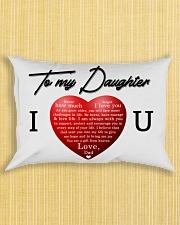 To My Daughter Rectangular Pillowcase aos-pillow-rectangle-front-lifestyle-6