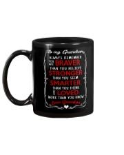 TO MY GRANDSON - GRANDPA Mug back
