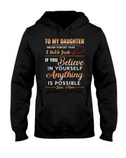 Daughter - Believe In You Mom Hooded Sweatshirt thumbnail