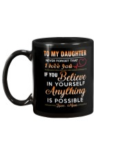 Daughter - Believe In You Mom Mug back
