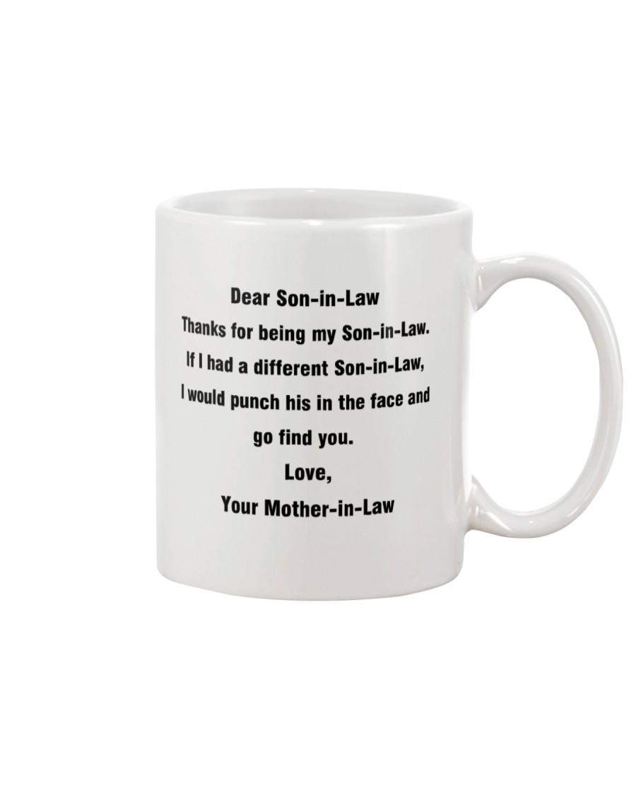 Funny Gift for Son-In-Law Mug