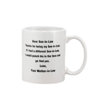 Funny Gift for Son-In-Law Mug front