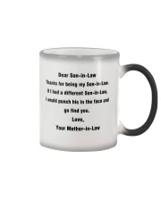 Funny Gift for Son-In-Law Color Changing Mug thumbnail