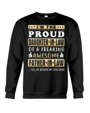 IM THE PROUD DAUGHTER-IN-LAW - FATHER-IN-LAW Gifts Crewneck Sweatshirt thumbnail