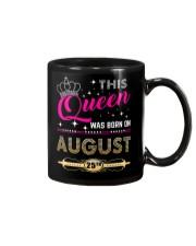 This Queen Was Born On 25TH Mug thumbnail