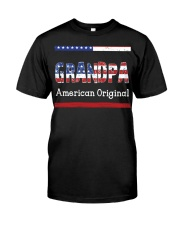 Grandpa American Original Classic T-Shirt front