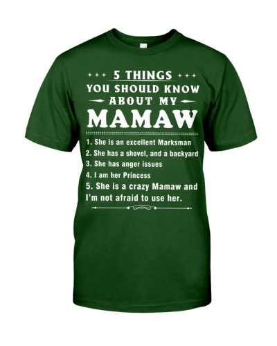 5Thing - Should Know My Mamaw