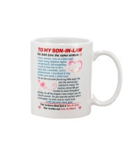 To My Son In Law Mug front