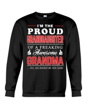 Proud Granddaughter Crewneck Sweatshirt thumbnail