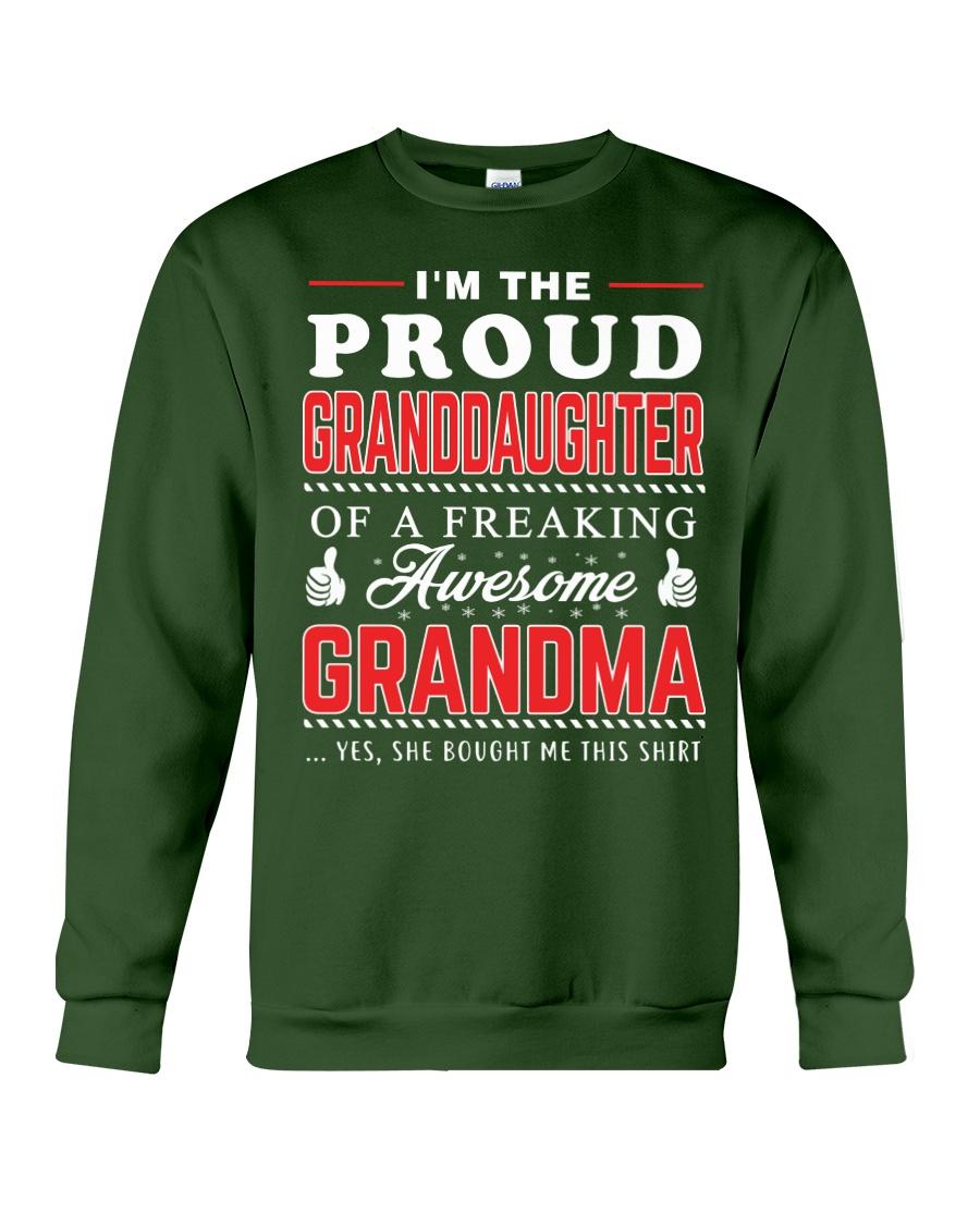 Proud Granddaughter Crewneck Sweatshirt