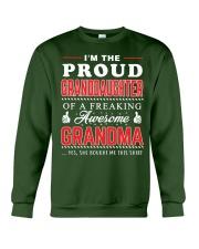 Proud Granddaughter Crewneck Sweatshirt front