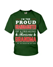 Proud Granddaughter Youth T-Shirt front