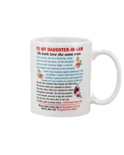 To My Daughter-In-Law Mug tile