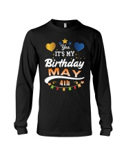 May 4th Birthday Gift T-Shirts Long Sleeve Tee tile