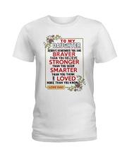 TO MY DAUGHTER Ladies T-Shirt tile