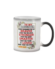 TO MY DAUGHTER Color Changing Mug tile